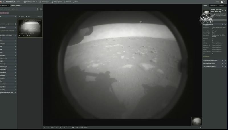Mars'tan İlk Fotoğraf